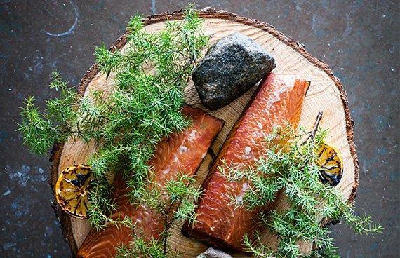 Lax från Artipelag Restaurang