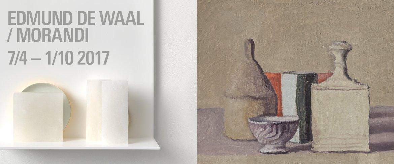 Opening Edmund de Waal / Giorgio Morandi