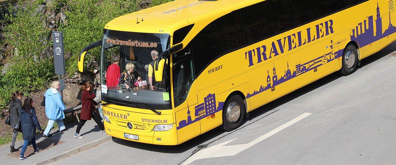 Travel by Bus to and from Artipelag - Artipelag