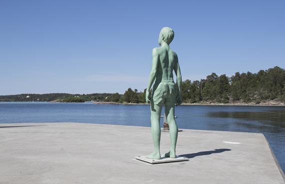 Skulptur i natur – Lars Nilsson, Boy (2012)