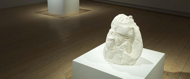 Foto av Gabriel Karlssons utställning på
